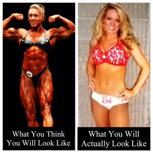 what toning actually looks like