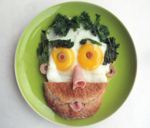 fussy eating lunch idea
